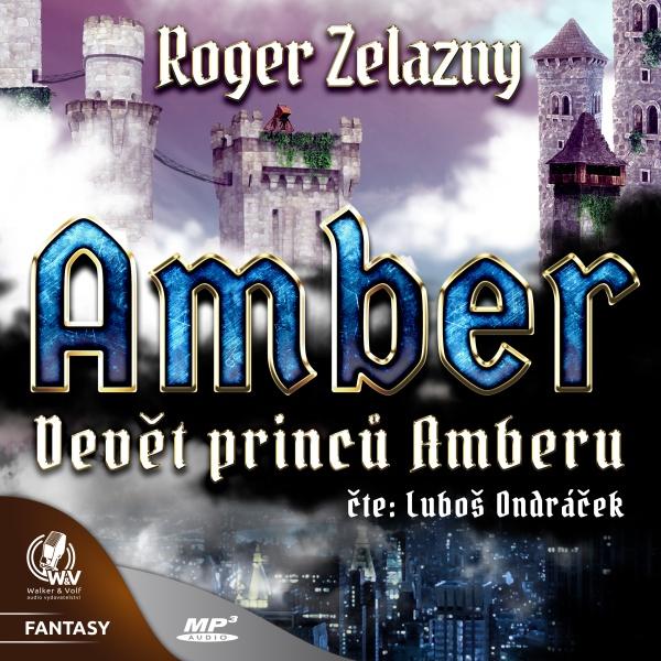 Amber: Devět princů Amberu Obálka knihy