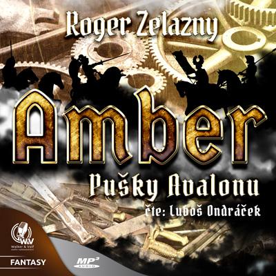 Amber: Pušky Avalonu Obálka knihy