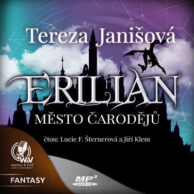 Erilian I. Město čarodějů Obálka knihy